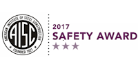 AISC 2017 Safety Award